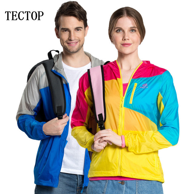 590c4685519 Tectop men women Lovers outdoor hiking camping clothes sunscreen breathable  ultra-light