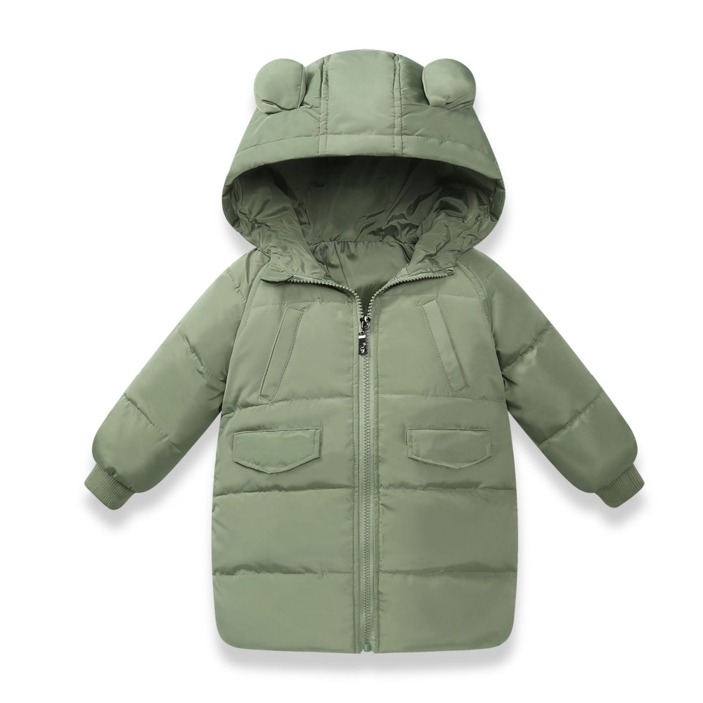 2018 Winter Boys Girls Down Coat Jackets Children's Cotton Warm Coats Outdoorwear Kids Child's Winter Clothes Clothing For Boys