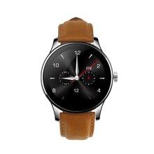 Bluetooth Smartwatch Android Männer Frauen Mode Edle Uhr Telefon mit Pulsmesser Schlaf Tracker für iPhone Samsung LG HTC