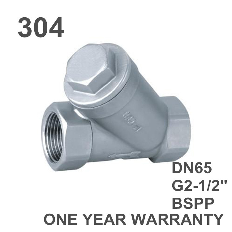 G2 1 2 Quot Bspp Female 304 Stainless Steel Inline Y Filter