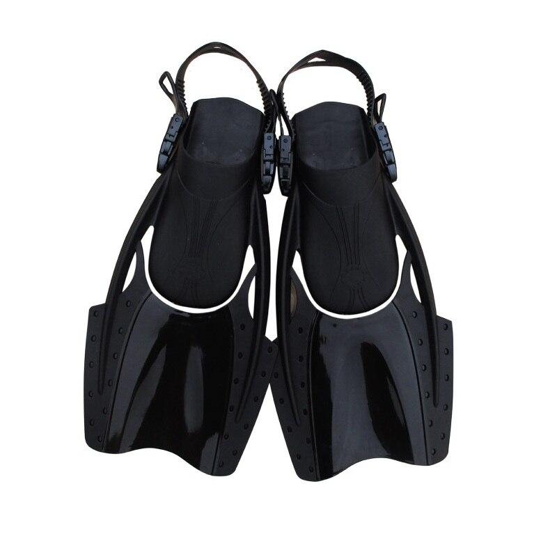 Jeu d'entraînement de natation palmes courtes palmes de plongée équipement de plongée Y087