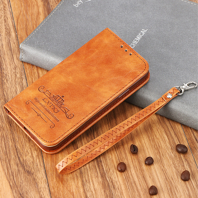 For iPhone 6 Cases Leather Magnetic Flip Wallet Case For iPhone 6 s Cover For iPhone 6 6S Coque With Stand Card Slot Bags