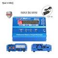 SKYRC IMAX B6 MINI 60 W Equilíbrio RC Carregador/Descarregador Para RC Helicóptero Re-peak para NIMH/NICD Aircraft + Adpater Poder