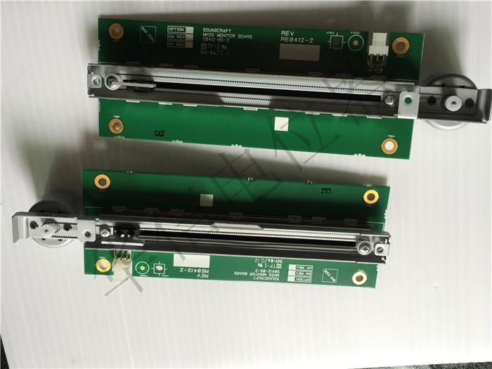 Nouveau potentiomètre fader électrique 100% SO412-05-Z 10KB B10K (commutateur)