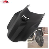 Black Motorcycle Front Wheel Mudguard Fender Extender Extension Cover For BMW R1200GS Adventure 2013 2014 2015