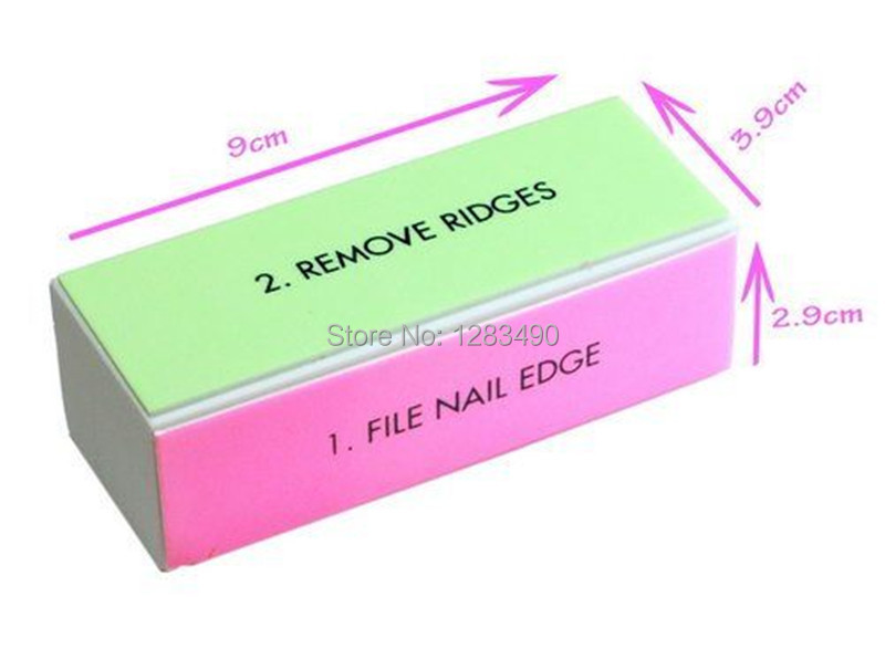 Nail Buffers Four Sizes 4 Pieces Art Tool File Edge Remove Ridge Smooth Shine Beauty Makeup In Files From Health On