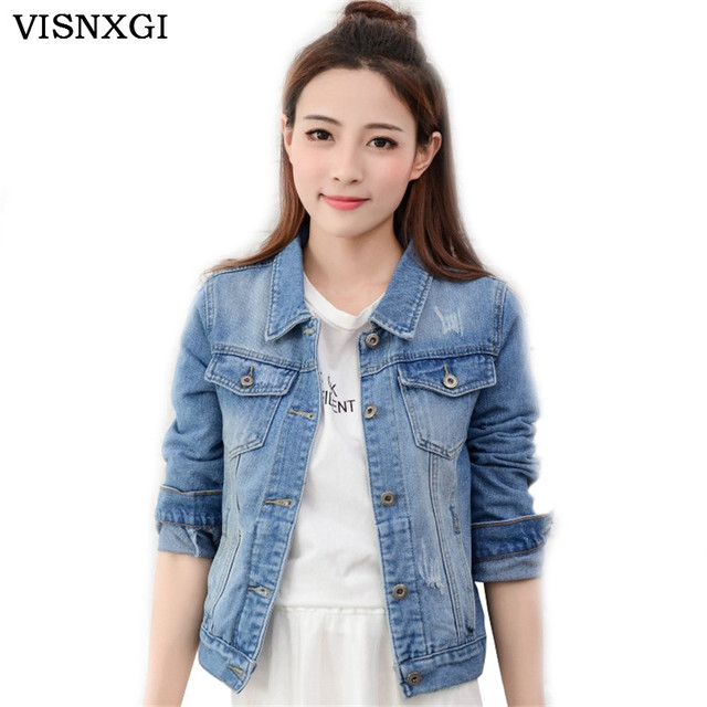 Otoño turn down collar denim bomber jacket women único breasted delgado jeans chaqueta corta capa femenina vintage outwear nueva s240