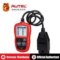 [5pcs/lot] Autel AutoLink AL319 On Board Diagnostics OBDII/CAN Code Reader Auto Fault Code Scanner Displays DTC definitions