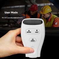 Nova gm200a mini lcd digital film tester revestimento medição medidor de espessura calibres pintura ferro portátil alumínio testador
