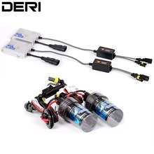 9005 HB3 55W Ultra Fast Start Slim Bright Car HID Headlight Kit Full Digital Car Styling