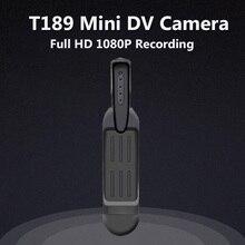 T189 Mini Câmera Full HD 1080 P 720 P Micro Câmera 12 M Vídeo Gravador de voz Digital Micro Câmera Da Pena HD Câmeras DVR Mini DV Cam