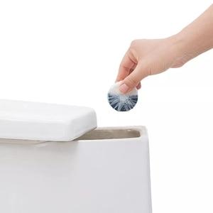 Image 2 - Youpin Clean n fresh блок для туалета с двойным эффектом, глубокое очищение, независимая анионная активная способность, Водорастворимая пленка, упаковка