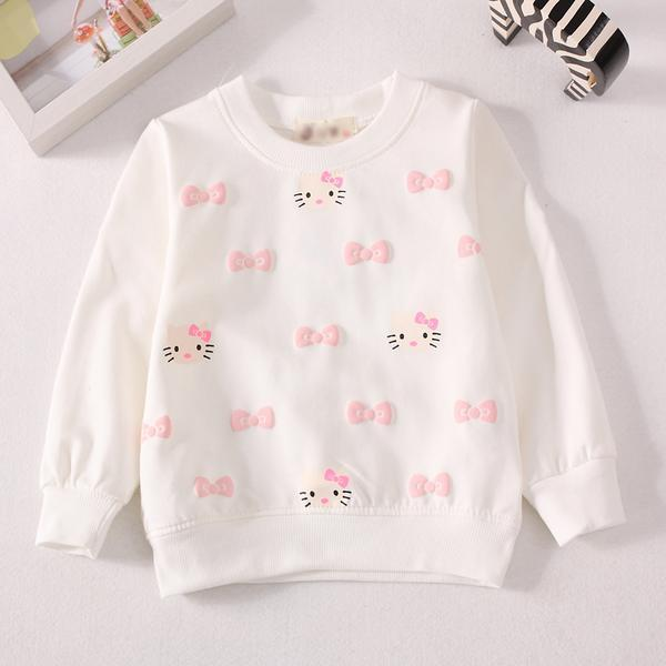 Baby Girls Cotton Long Sleeve Top