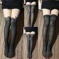 Free Shipping, Patchwork silk stockings pantyhose leg faux two piece pantyhose pattern stockings basic