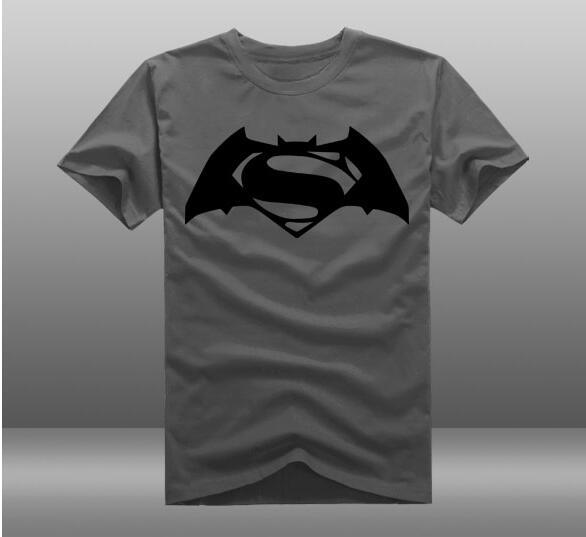 370b7776d New Batman vs Superman t shirt Super Heroes T shirts Batman logo unisex T- Shirt