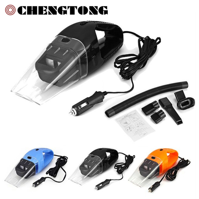 2017 NEW 120W Portable Car Vacuum Cleaner Wet and Dry Aspirador de po dual-use Super Suction Car Vacuum Cleaner (HEPA Filter)