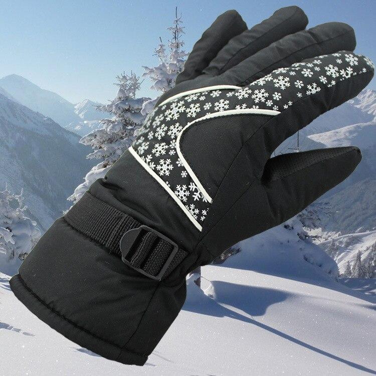Glv838 keep warm winter font b gloves b font Water prevention windproof ski font b gloves