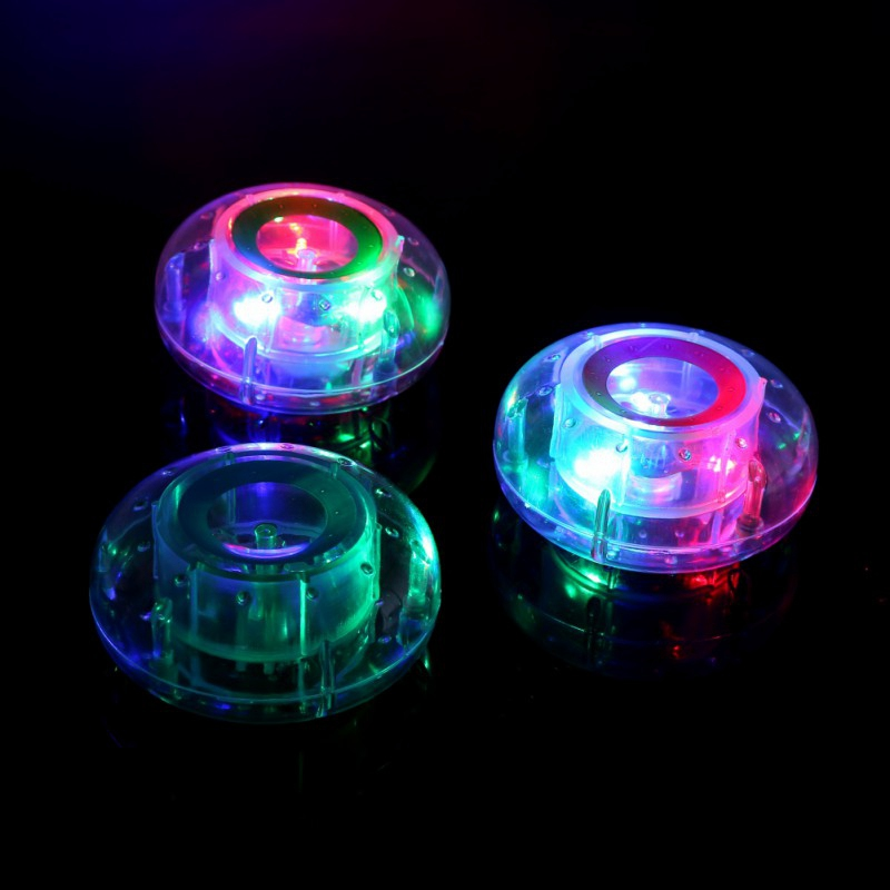 Colorful Bathroom LED Pool Light Kids Waterproof Flashing Bath Tub Toys Funny Shower Party Nightlight Floating Toy For Chil