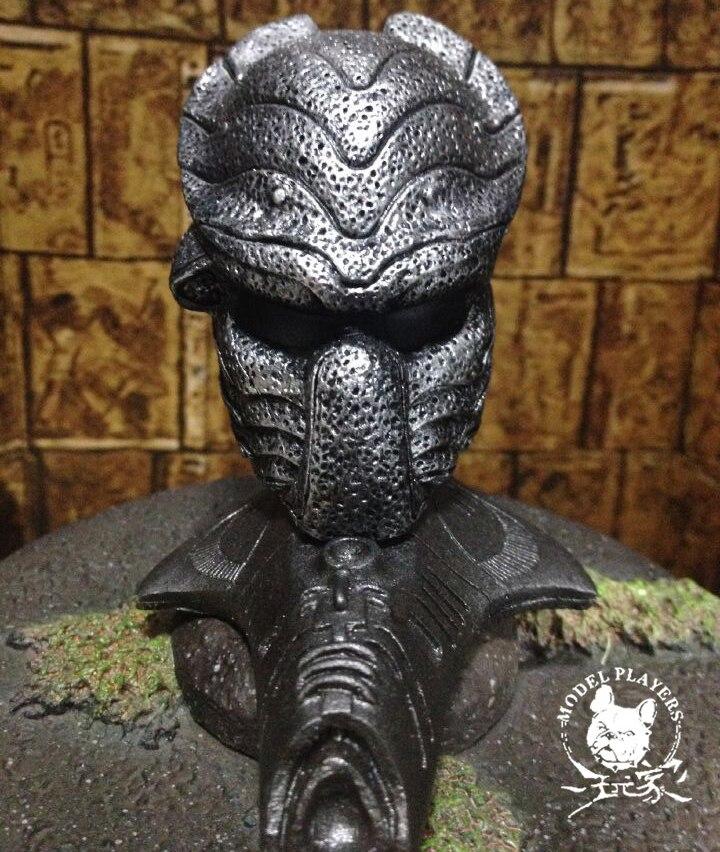 New Delicated 1/6 Scale Ball Aliens Vs Predator AVPR Mask Mini Mask For Fans Collection