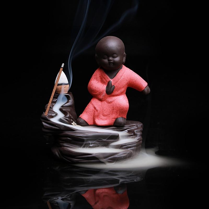 5PCS Incense + Home Decor Будда Censer Керамикалық - Үйдің декоры - фото 5