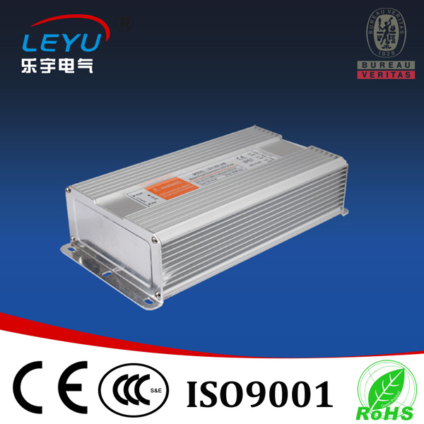 цена на 250w waterproof led transformer ac to dc single output 36v 0~6.9a approved CE RoHs two years warranty IP67 level