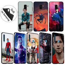 IYICAO Spider Man Marvel tom holland Soft Silicone Cover Case for Samsung Galaxy A6 Plus A9 A8 A7 2018 A3 A5 2016 2017 Note 9 8