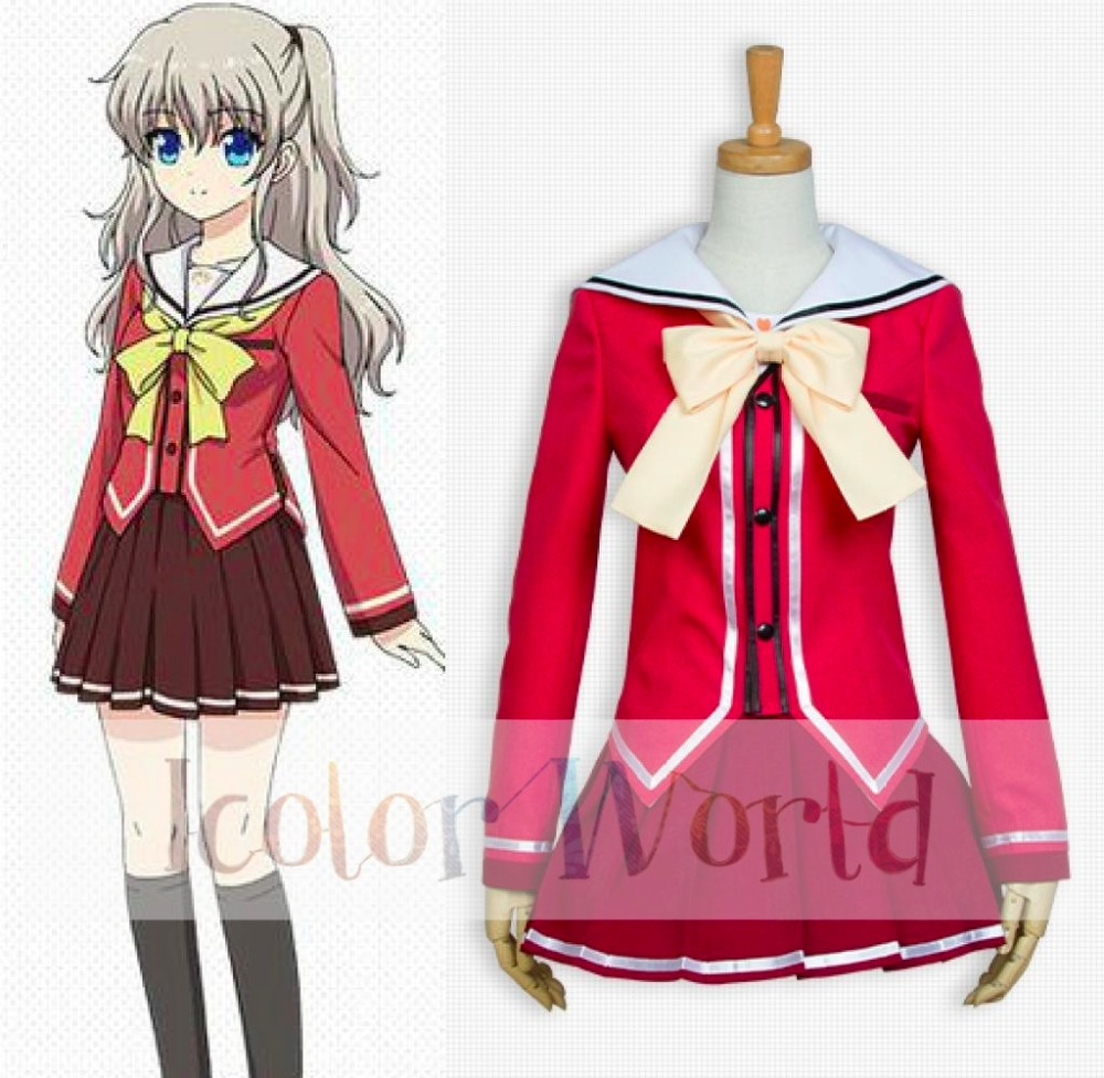 Novelty & Special Use Charlotte Nao Tomori Cosplay Costume We Take Customers As Our Gods