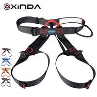XINDA Professional Outdoor Sports Rock Climbing Half Body Waist Support Safety Belt Harness Aerial Work Equipment