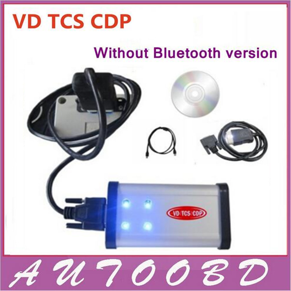 DHL Free !!!! 2014.R2 /2015.R3 CDP Interface VD TCS CDP Pro carton box Test CAR+TRUCK Generic 3in1 OBD2 OBD II Diagnostic Tool