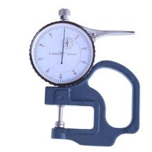 Cheap price 0-10mm/0.01mm Dial Thickness Gauge Curved Tip Dial Test Indicator Caliper Gauge Measuring Tools