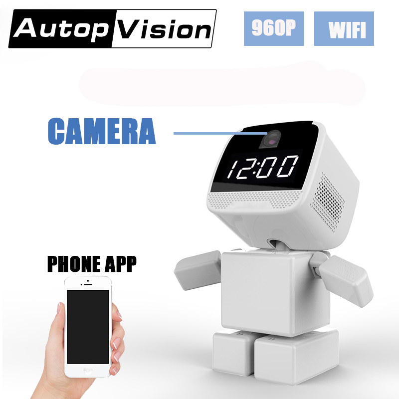 A380 Baby Monitor viewing online Night Vision 2 way Talk Robot Shape Monitor Video Nanny Radio