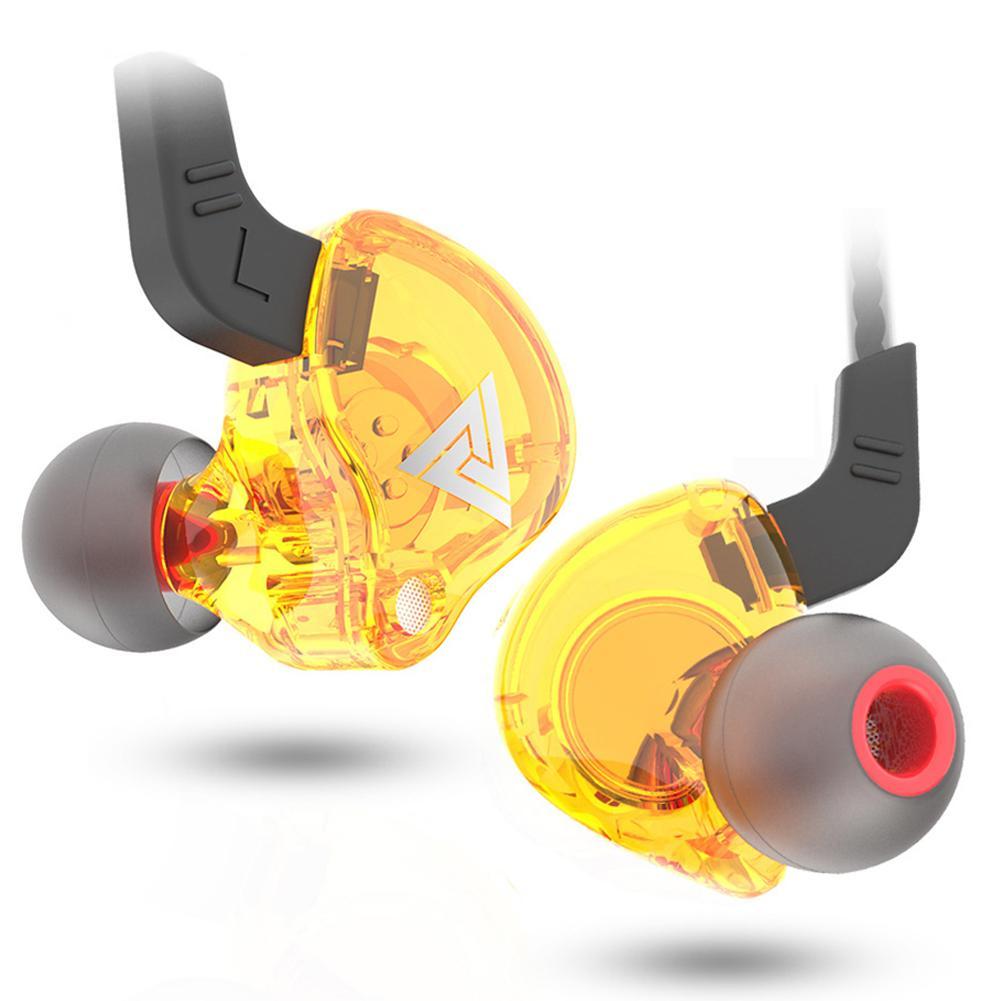 QKZ AK6 106dB 1.2m High Fidelity Wire Earphones Universal 3.5mm Sports In-ear HiFi Sound Earphone For Phones Tablet Durable Line