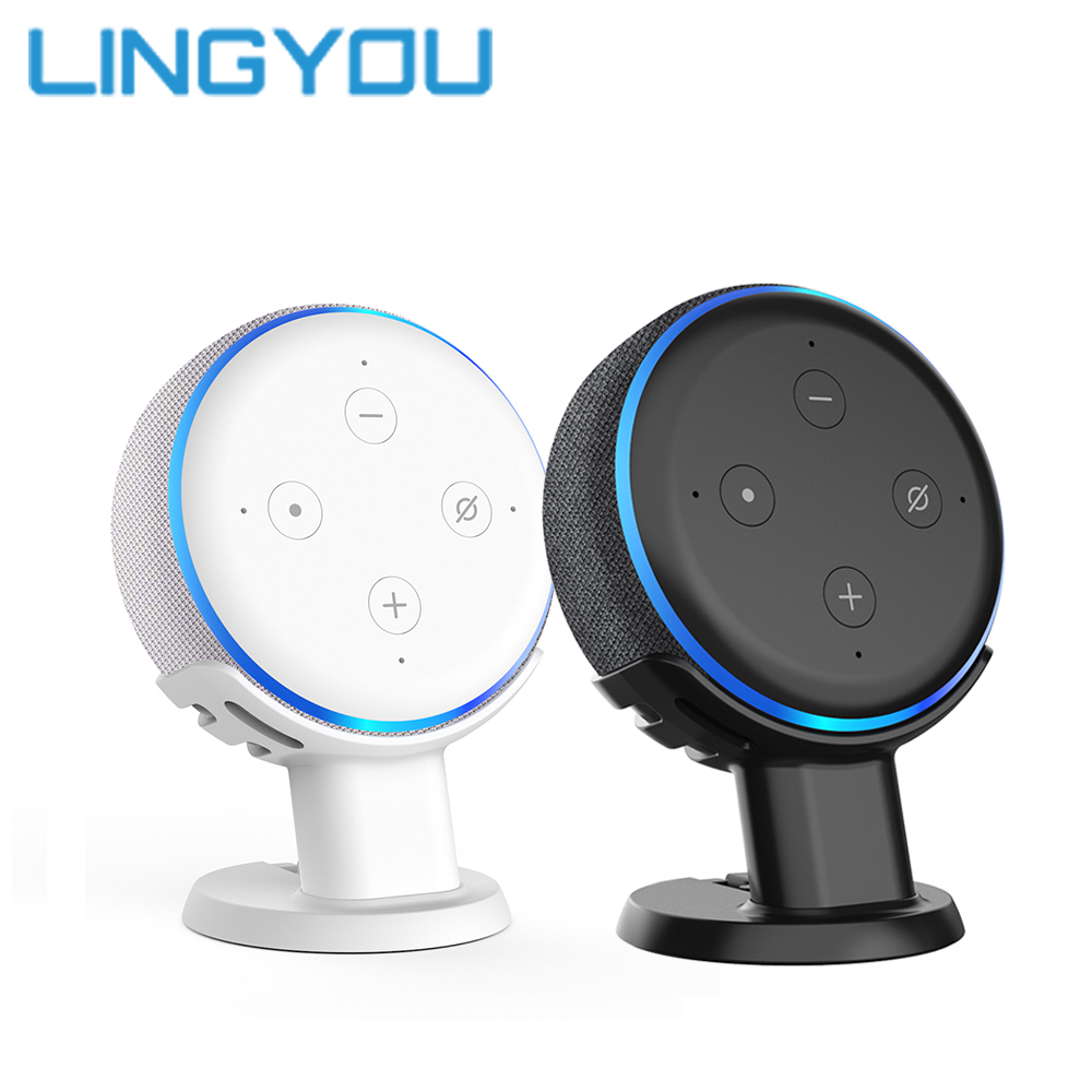 100% Original For Amazon Echo Dot 3rd Generation Wall Mount Holder Alexa Stand Voice Assistants Case Bracket Dropshipping