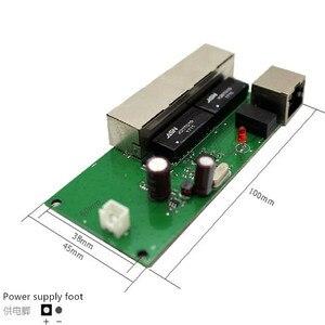 Image 4 - Hohe qualität mini günstige preis 5 port schalter modul manufaturer unternehmen PCB board 5 ports ethernet netzwerk schalter modul
