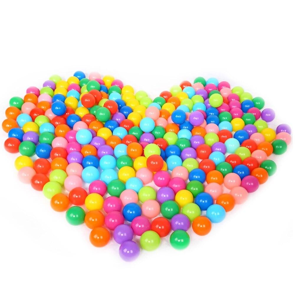 100 pcs Enfants Bébés Enfants Coloré En Plastique Piscine À Balles Jouer pour Piscines À Balles Bounce Maisons Jouer Tentes Piscines pour enfants Maisonnettes