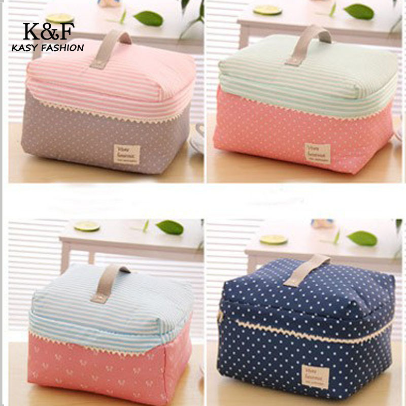 S Cute Makeup Bags Hot Portable Cotton Organizer Cosmetic Bag Beauty Pouch Storage Handbag Track Toiletry In Cases From