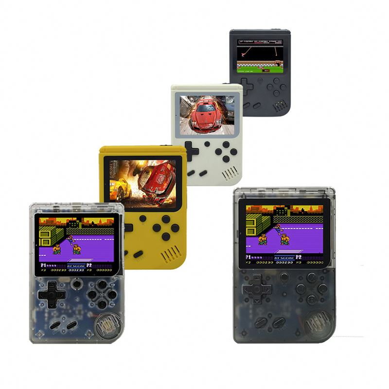 Portable Retro Tv Video Game Console 8 Bit Classic Handheld Game Console Buit-In 168 Game With Game Controller