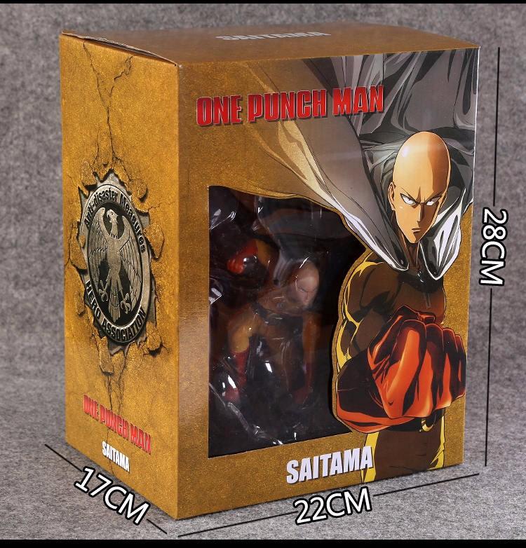One Punch Figure Saitama Sensei One Punch Man Figure PVC 7