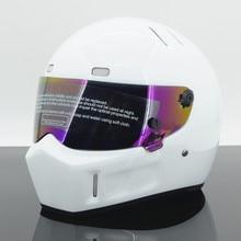 Соединенные Штаты полные шлемы StarWars мотоциклетный шлем Симпсон армированный стекловолокном пластиковый свиной ATV-I