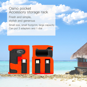 Image 5 - Osmo Pocket Spare parts Mobile phone Adapter & Controller Wheel Dial Storage Box case for DJI OSMO Pocket Handheld Camera