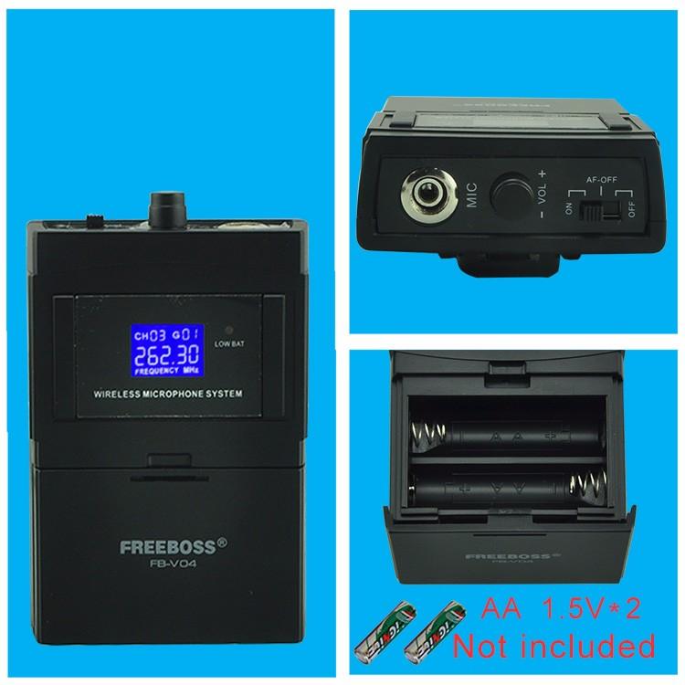 FB-V04 21 Wireless Microphones