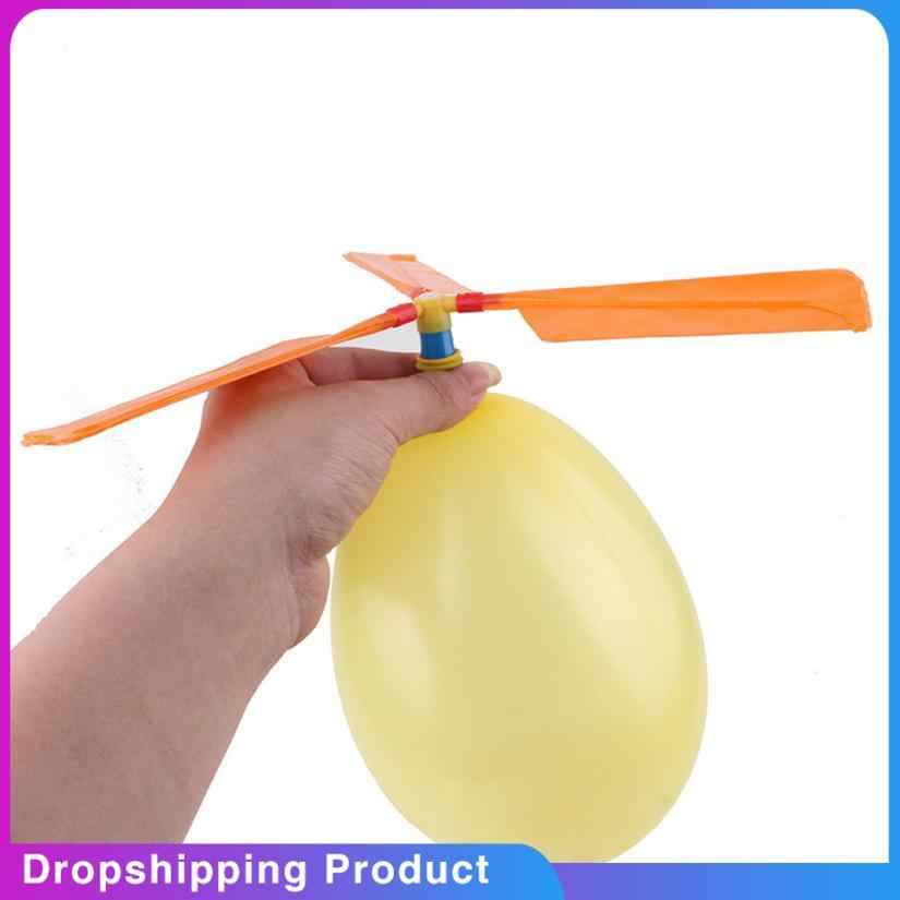 Oyuncak speelgoed Hot Sale Balloon Helicopter Flying Toy Child Birthday Xmas Party Bag Stocking Filler Gift baby bathroom