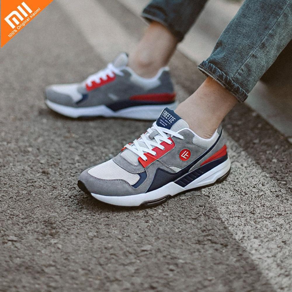 4 Colors Original Xiaomi Mijia FREETIE90 Men's Retro Sports And Casual Shoes Breathable Wear-Resistant Shock Elasticity Shoes