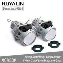 ROYALIN металла Hella 3R G5 биксеноновые фары объектив D2S огни проектор универсальный автомобиль лампа D1S D2H D3S D4S лампы двигатели модернизации
