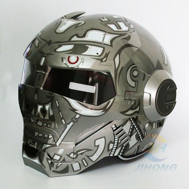Casque moto terminator
