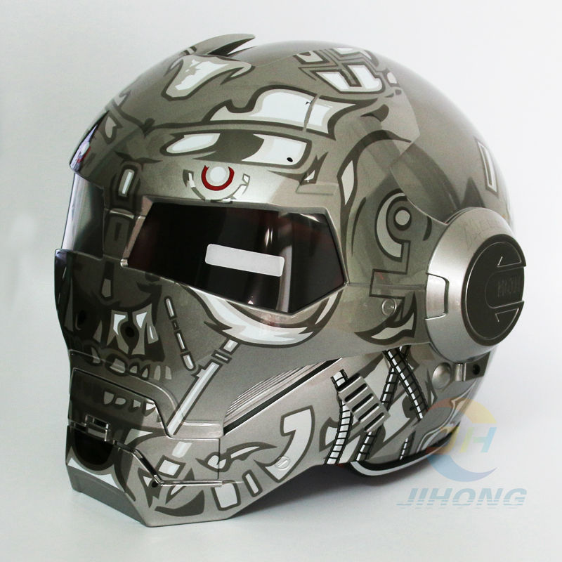 abs terminator masei ironman iron man motorcycle helmet moto bike helmet personality special. Black Bedroom Furniture Sets. Home Design Ideas