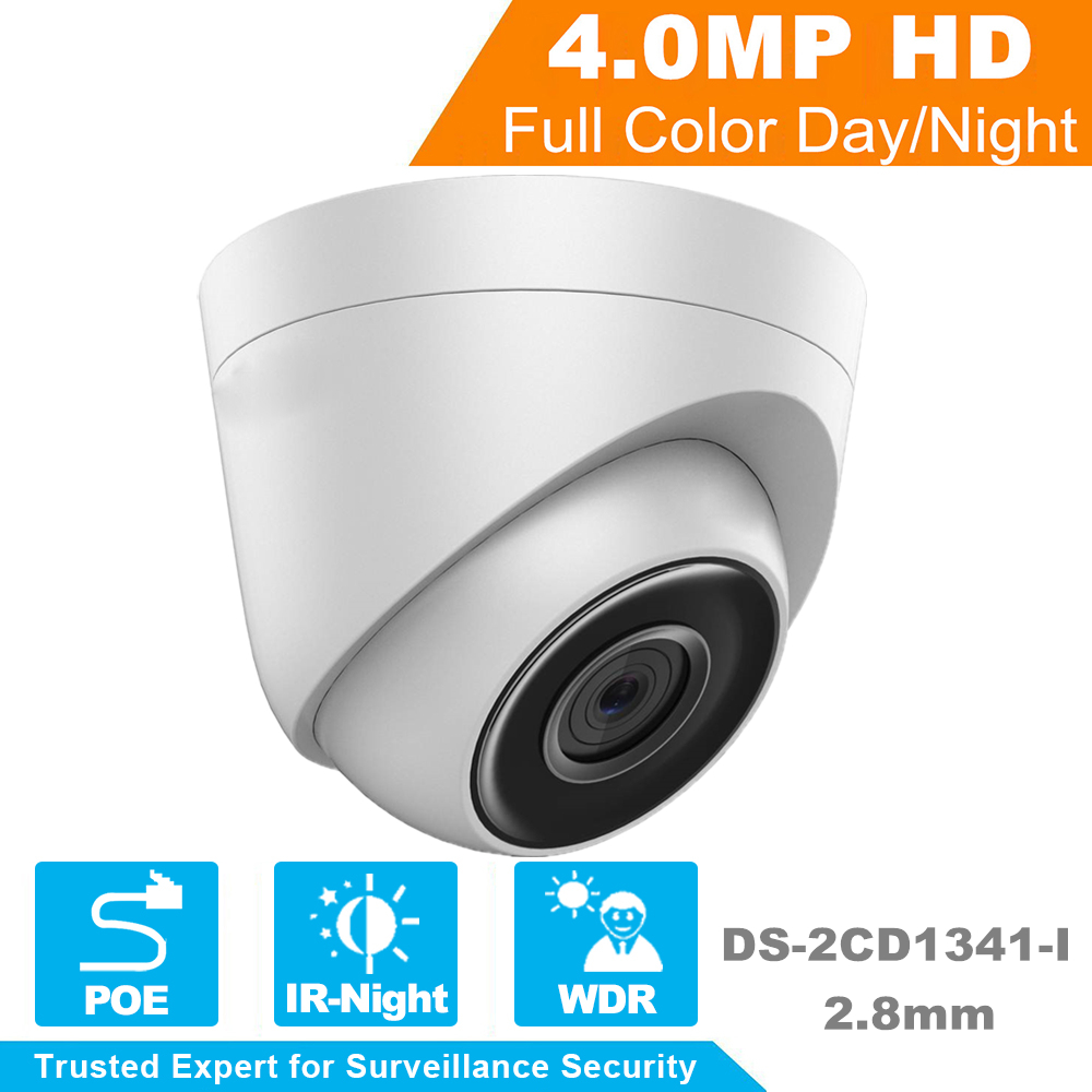 In stock DHL shipping Original Hikvision Security IP Camera DS-2CD1341-I replace DS-2CD2345-I 4MP CCTV camera POE IP Camera newest hik ds 2cd3345 i 1080p full hd 4mp multi language cctv camera poe ipc onvif ip camera replace ds 2cd2432wd i ds 2cd2345 i