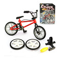 Mini Bicicletas Bmx Dedo Brinquedos Juguetes para niños Regalo de Cumpleaños, Material de Aleación de Plástico del Cabrito Juguete Bicicleta