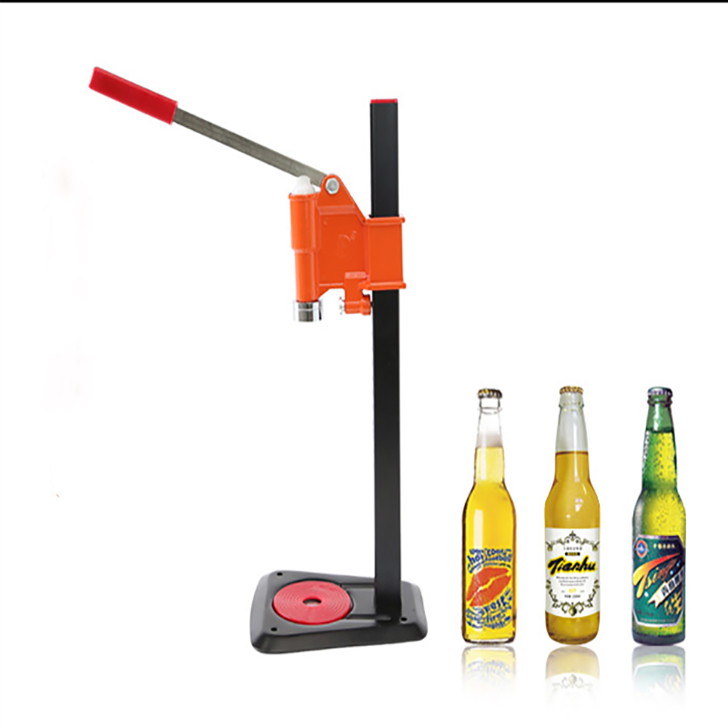 Bottle Capping Machine Manual Beer Lid Sealing Capper Beer Capper Soft Drink Capping Machine Soda Water Caper 1pc commercial beer machine ice core beverage dispenser double headed ice beer drink machine dispenser beer machine 1pc