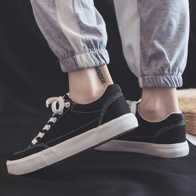 2e64411993c080 Zapatillas slip 40 Non 35 Filles Lacets Baskets Chaussures white Femmes  Blanches 2019 Les Mujer Pour ...